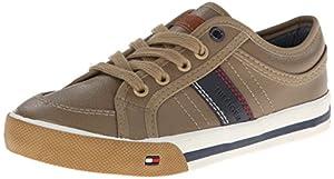 Tommy Hilfiger Kids Dennis Retro Sneaker (Toddler/Little Kid/Big Kid),Khaki,9 M US Toddler