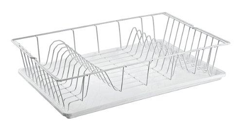 prabu ira metaltex 320245 gouttoir vaisselle avec plateau. Black Bedroom Furniture Sets. Home Design Ideas