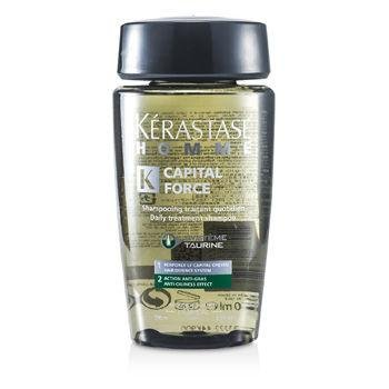 Kerastase HOMME CAPITAL FORCE shampooing traitant quotidien 250 ml