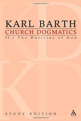 Church Dogmatics, Vol. 2.1, Section 31: The Doctrine of God,  Study Edition 9