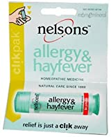 Allergy & Hayfever, Homeopathic Medicine, 84 Pillules by Nelson Bach