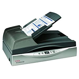 Xerox XDM6325D-WU DocuMate 632 - Document scanner - Duplex - Legal - 600 dpi - up to 40 ppm (mono) / up to 40 ppm (color) - ADF ( 80 sheets ) - up to 5000 scans per day - USB 2.0
