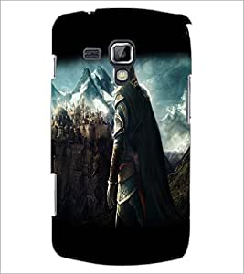 Printdhaba Warrior D-2075 Back Case Cover For Samsung Galaxy S Duos S7562