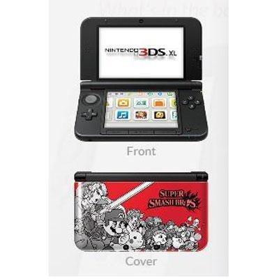 Nintendo 3DS XL Super Smash Bros Limited Edition Console - Red (3ds Super Smash Bros compare prices)
