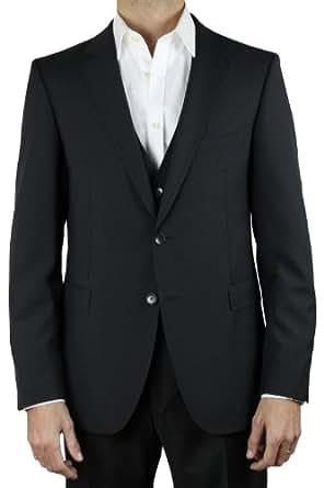 strellson 3 piece suit strellson rick james jr amazon. Black Bedroom Furniture Sets. Home Design Ideas