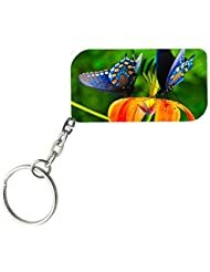 Beautiful Butterflies | ShopTwiz WOODEN Key Ring