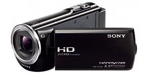 Sony HDR-CX320EB HD Flash Camcorder (1920 x 1080 Pixel, G-Optik mit 30-fach Zoom, Automatikmodus) schwarz