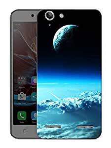 "Earth From Above Printed Designer Mobile Back Cover For ""Lenovo Vibe K5 - K5 Plus"" By Humor Gang (3D, Matte Finish, Premium Quality, Protective Snap On Slim Hard Phone Case, Multi Color)"