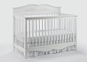 Graco Victoria Non Drop Side 5 In 1 Convertible Crib, White (Discontinued by Manufacturer)