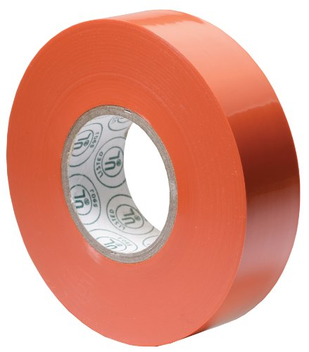 Gardner Bender GTO-667P 3/4-Inch by 66-Foot Orange Electrical Tape
