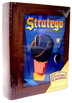 Library Stratego Game Set