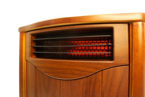 B0045XE0SQ Tuscan Walnut Comfort Furnace Infrared Heater UV
