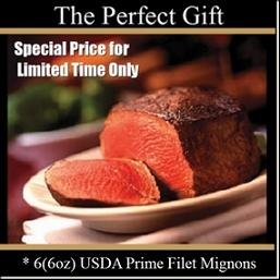 Usda Prime - Filet Mignon (4,6,8) - Chicago Steak Company - Vfsp150 4 10Oz front-364975