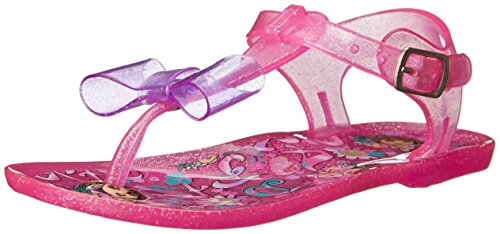Nickelodeon Dora The Explorer With Bow Jelly Sandal (Toddler),Fuchsia,6 M Us Toddler