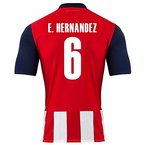 puma-e-hernandez-6-chivas-guadalajara-home-soccer-jersey-2016-17-youth-us-size-yl