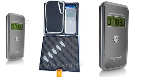 AlcoSAFE 7000 Pro Pack (Hard Case) Premium Breathalyser