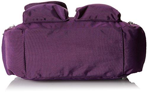 Baggallini Everywhere Travel Crossbody Bag Violet One Size Apparel Accessories Handbags