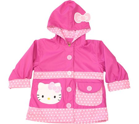 Western Chief Little Girls' Hello Kitty Polka Dotted Cutie, Pink, 2T front-397556