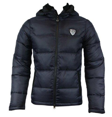 Emporio Armani EA7 271370 2A349 Mens Down Quilted Jacket Dark Slate XL