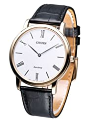 Citizen Eco-Drive Analog White Dial Men's Watch AR1113-12B