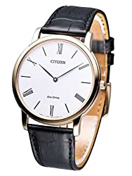 Citizen Eco-Drive Analog White Dial Mens Watch - AR1113-12B