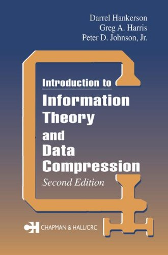 Introduction To Information Theory And Data Compression, Second Edition (Applied Mathematics)
