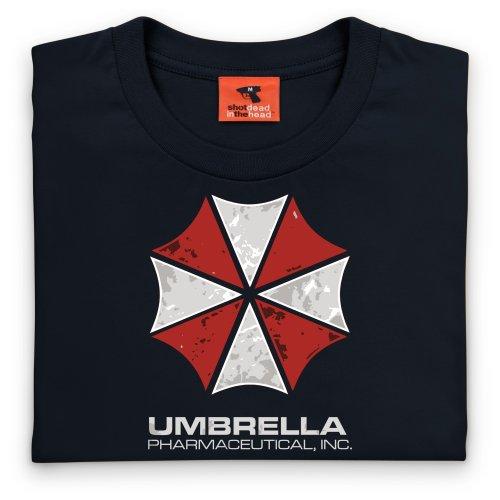 Inspired By Resident Evil T Shirt - Umbrella Pharmaceuticals, Mens