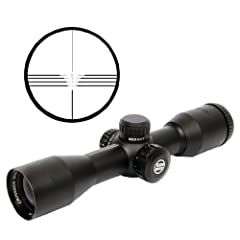 Parker Red Hot High Velocity 3X32 Mr Illuminated Scope 3X32mm Size 32 by Parker