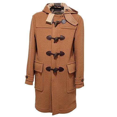 5996Q montgomery uomo BURBERRY BRIT mid camel cappotto lana jacket men [S]