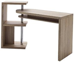 schreibtisch mattis mdf eiche s gerau nachbildung kombination aus schreibtisch regal. Black Bedroom Furniture Sets. Home Design Ideas