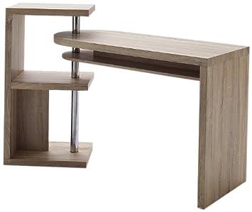 Robas Lund Schreibtisch- Kombination Mattis Eiche sägerau 50 x 145 x 94 cm