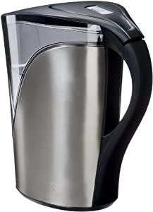 Brita Stainless Steel Water Filter Pitcher+2 Filters