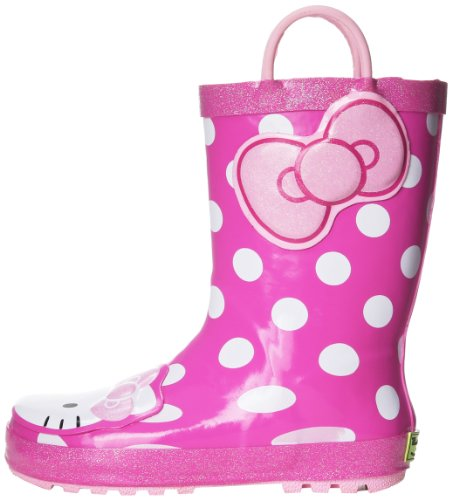 Western Chief Hello Kitty Cutie Rain Boot (Toddler/Little Kid/Big Kid),Pink,10 M US Toddler