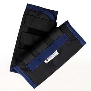 La forme physique équine 2 paires de x restent les bottes froides - bleu royal