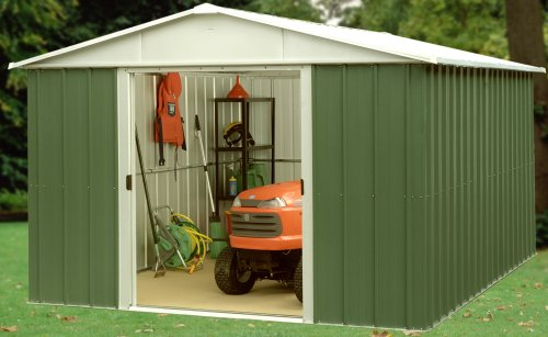 Trigano Deluxe Metal Apex Shed 10 x 13