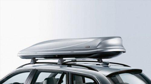 BMW Dachbox 460 Silber/Schwarz