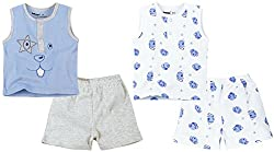 Sleeveless Tee With shorts Pack Of 2 - Multicolour (9-12 M)
