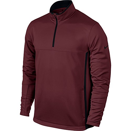 Nike Golf Men's Half Zip Therma-Fit Cover Up-Small-Team Red