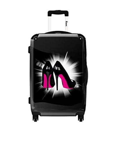 Ikase 24″ Pink Soles Rolling Luggage, Multi