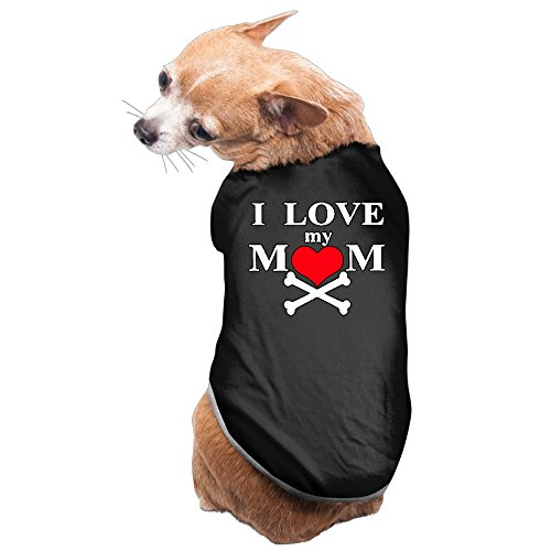 YRROWN I Love My Mommy Puppy Dog Clothes (Lil Brush Bones compare prices)