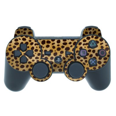 Mygift Cheetah Design Ps3 Playstation 3 Controller Protector Skin Decal Sticker