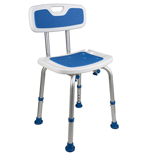 Shower Chair With Back By Vive Bathtub Chair W Arms For