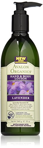 Avalon Organics Lavender Hand & Body Lotion, 12 Ounce