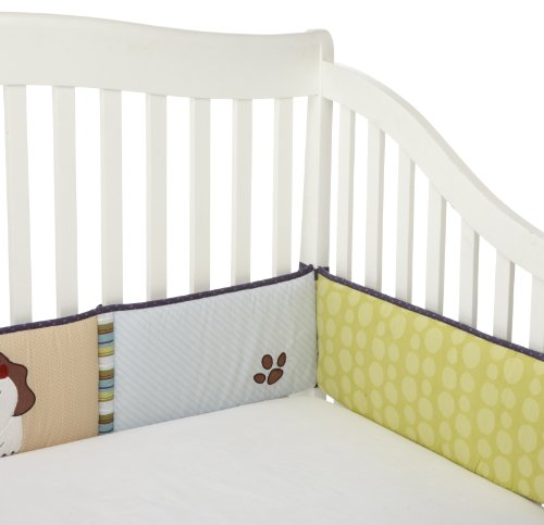 CoCo & Company Chomp N Stomp Crib Bumper (Discontinued by Manufacturer) (Linen Crib Bumper compare prices)