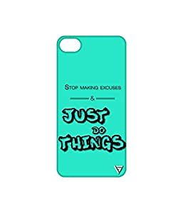Vogueshell Just Do Things Printed Symmetry PRO Series Hard Back Case for Apple iPhone 7