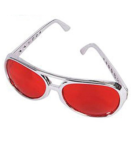 Rock Star Sunglasses - Elvis Aviator Rock Star Glasses
