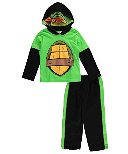 "TMNT Little Boys' ""Michelangelo Sketch"" 2-Piece Outfit"