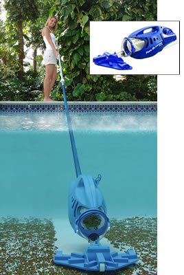 Pool Blaster Max-Rechargable Vacuum for Cleaning Your Above Ground Swimming Pool