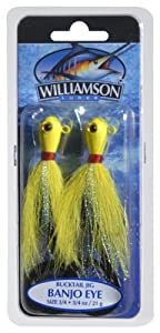Williamson Banjo Eye Jig, 3 4-Ounce, Yellow by Williamson