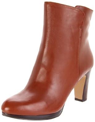 Nine West Women's Protege Boot,Cognac Leather,8 M US